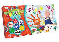 Пальчиковые краски 4 цвета Danko-Toys