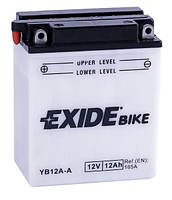 Аккумулятор кислотный 12Ah 165A EXIDE KAWASAKI, HONDA