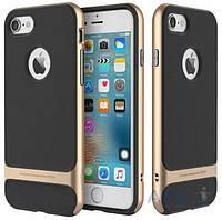 Чехол Rock Royce Series Apple iPhone 7 Black Gold