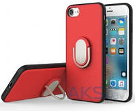 Чехол Rock Ring Holder Case M1 Series Apple iPhone 7 Red
