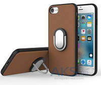 Чехол Rock Ring Holder Case M1 Series Apple iPhone 7 Brown