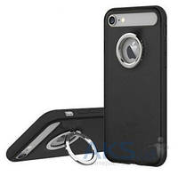 Чехол Rock Ring Holder Case M2 Series Apple iPhone 7 Black