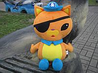 Мягкая игрушка Кот Квази из Октонавты ручная работа