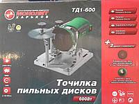 Станок для заточки пильных дисков Монолит ТД-600