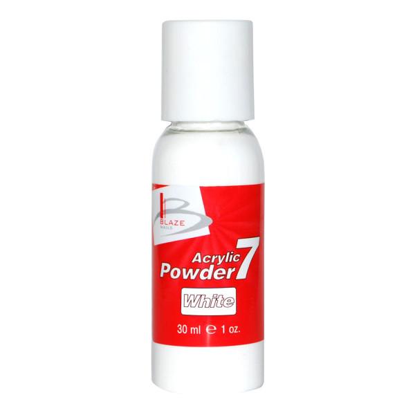 BLAZE Powder 7 White акриловая пудра скорость выше средней 30 мл