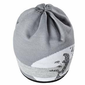 Теплая вязанная женская шапочка спортивного стиля от Loman Польша, фото 2