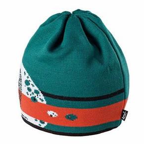 Теплая вязанная женская шапочка спортивного стиля от Loman Польша, фото 3