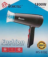 Компактный фен для волос Domotec MS-9192