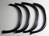 Расширители колесных арок на BMW X5 E70 , фото 2