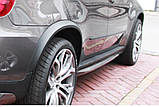 Расширители колесных арок на BMW X5 E70 , фото 5