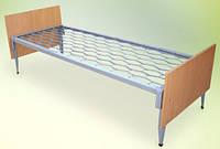 Кровать одноярусная 190 х 70 с деревянной спинкой