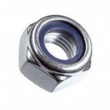 Гайка со стопорным нейлоновым кольцом DIN 985