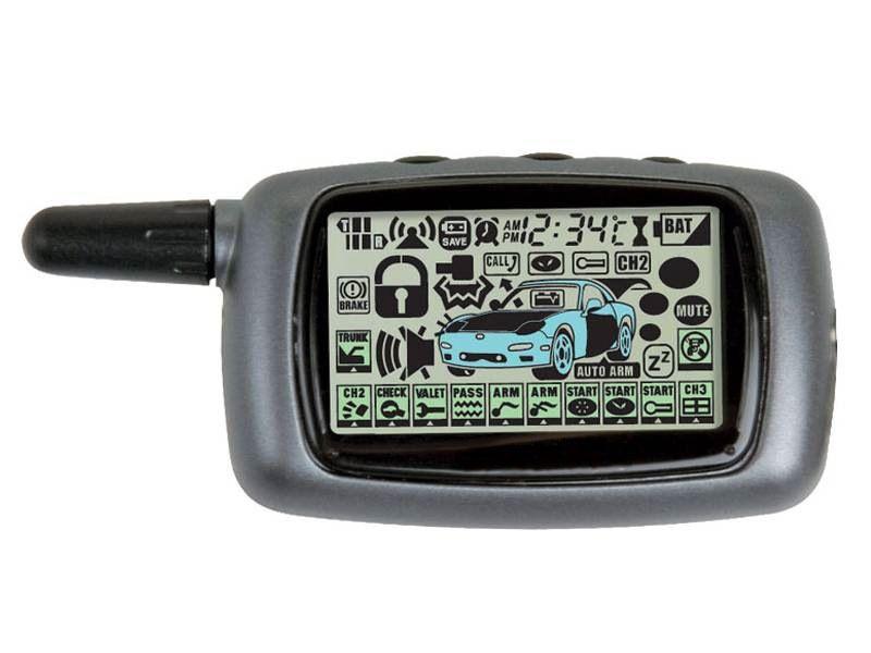 Брелок с ЖК-дисплеем для сигнализации StarLine A6