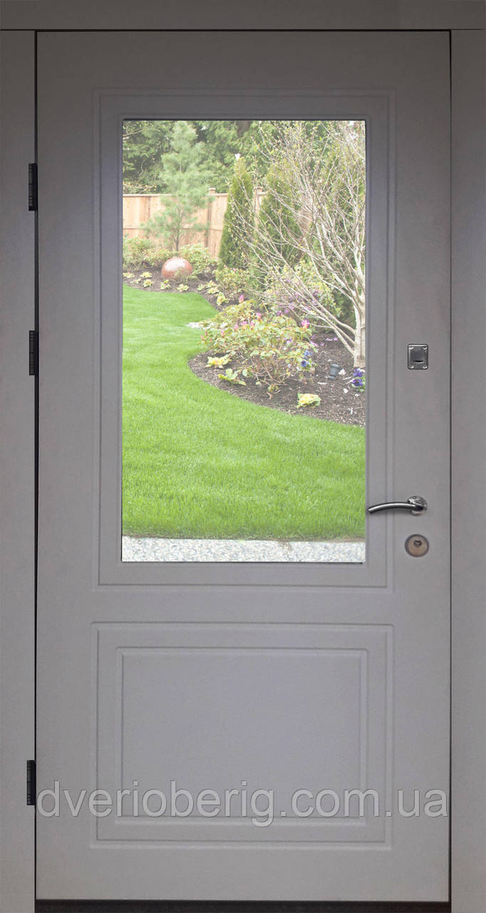 Вхідні двері модель П5 68 vinorit-05 СКЛО