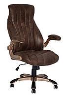 Кресло для руководителя Conor темно-коричневое