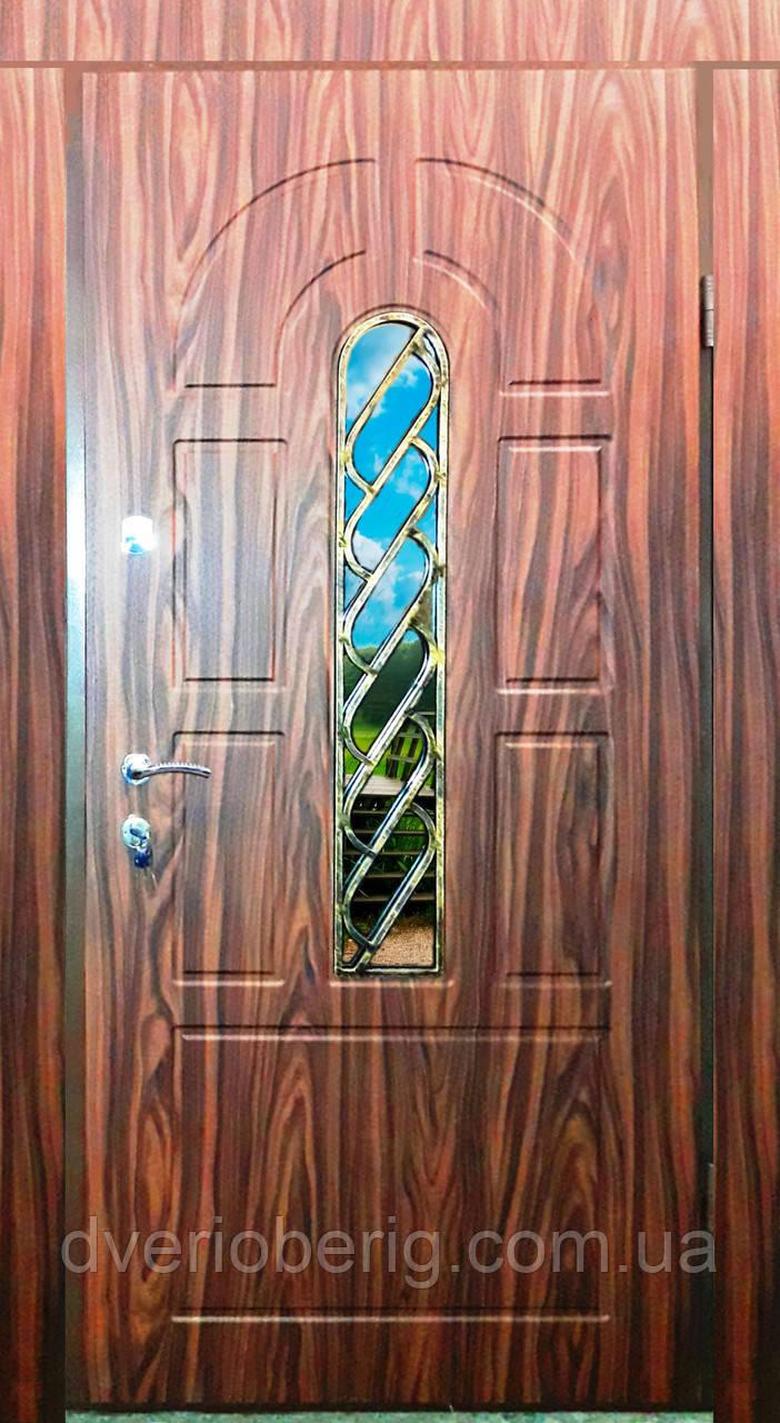 Входная дверь модель Т-1-3 124 vinorit-40 КОВКА
