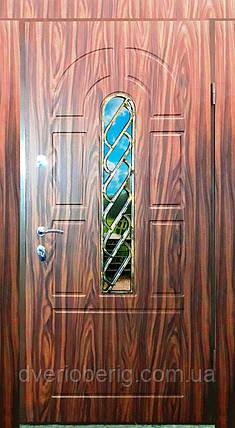 Входная дверь модель Т-1-3 124 vinorit-40 КОВКА, фото 2