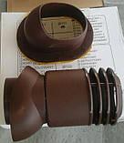 Вентиляционный выход утепленный Kronoplast KBWO 150мм для металлочерепицы средняя волна до 30 мм с колпаком, фото 3