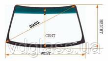 Производство, изготовление стекол триплекс на автобус Van Hool на заказ