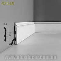 Плинтус SX118 Orac Decor 140х18х2000мм