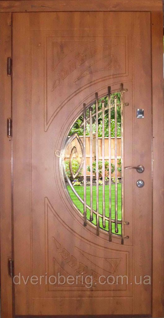 Входная дверь модель П5 34 vinorit-90 КОВКА