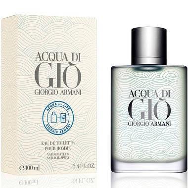 Мужские духи Giorgio Armani Acqua di Gio pour Homme Aqua for Life Edition edt 100ml, фото 2