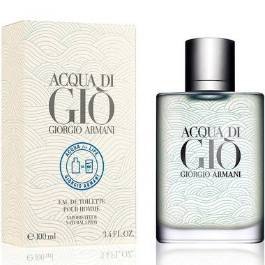 Мужские духи Giorgio Armani Acqua di Gio pour Homme Aqua for Life Edition edt 100ml, фото 2