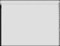 Тканевые рулонные шторы Black out (блэкаут) БЕЛЫЙ, РАЗМЕР 52,5х170 см , фото 1