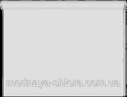 Тканевые рулонные шторы Black out (блэкаут) БЕЛЫЙ, РАЗМЕР 40х170 см