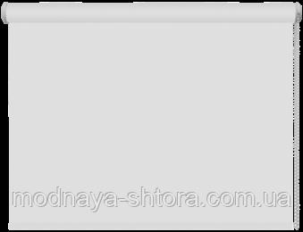 Тканевые рулонные шторы Black out (блэкаут) БЕЛЫЙ, РАЗМЕР 50х170 см , фото 1