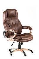 Кресло Bayron директорское офисное темно-коричневое