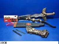 Набор оружия 6652A6652B 60шт2 меч, лук и стрелы,...в пакете 19см