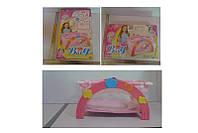 Кроватка-манеж 9006A 24шт2 с постелькой, в кор.