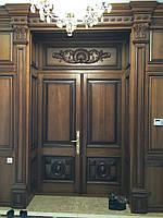 Двери межкомнатные из массива.
