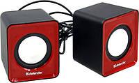 Портативная акустика Defender 2.0 SPK 22 (AUX) цвет красный