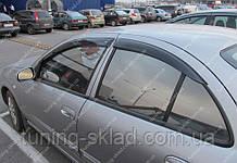 Вітровики вікон Ніссан Альмера 2 N16 (дефлектори бокових вікон Nissan Аlmera 2 N16)