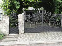 Ворота кованые  Люкс