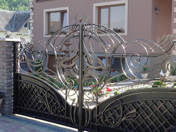 Ворота кованые Маргарита, Маргарита плюс , фото 2