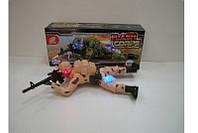 Ползающий солдат батар. HD915B 60шт2 свет,звук,в коробке