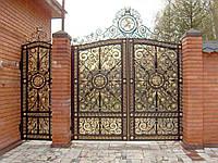 Ворота кованые Матадор