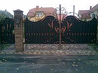 Ворота кованые Меркурий, Меркурий плюс