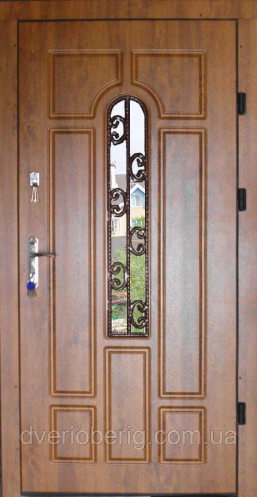 Входная дверь модель П5 217 vinorit-90 КОВКА Л1