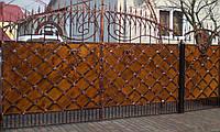 Ворота кованые Мытница (дерево), Мытница плюс