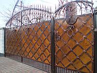 Ворота кованые  Митница (метал)