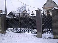 Ворота кованые Навы, Навы плюс