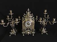 Набор Часы + 2 подсвечника на 5 свечей Stilars 1383