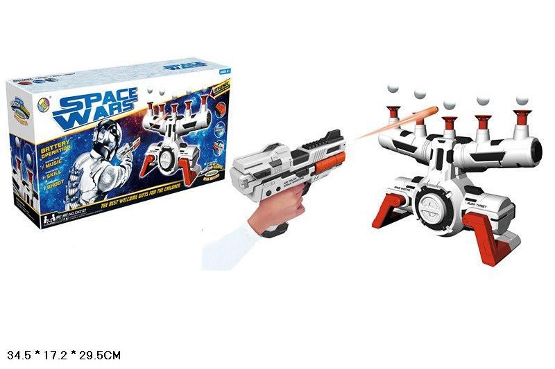Тир батар CH2127 12шт2 пистолет, мишень, поролон.пули, в коробке 34,517,529,5см - ИГРОДОМ в Днепре