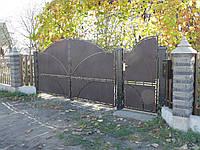 Ворота кованые Нури