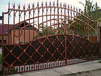 Ворота кованые Окко, Окко плюс