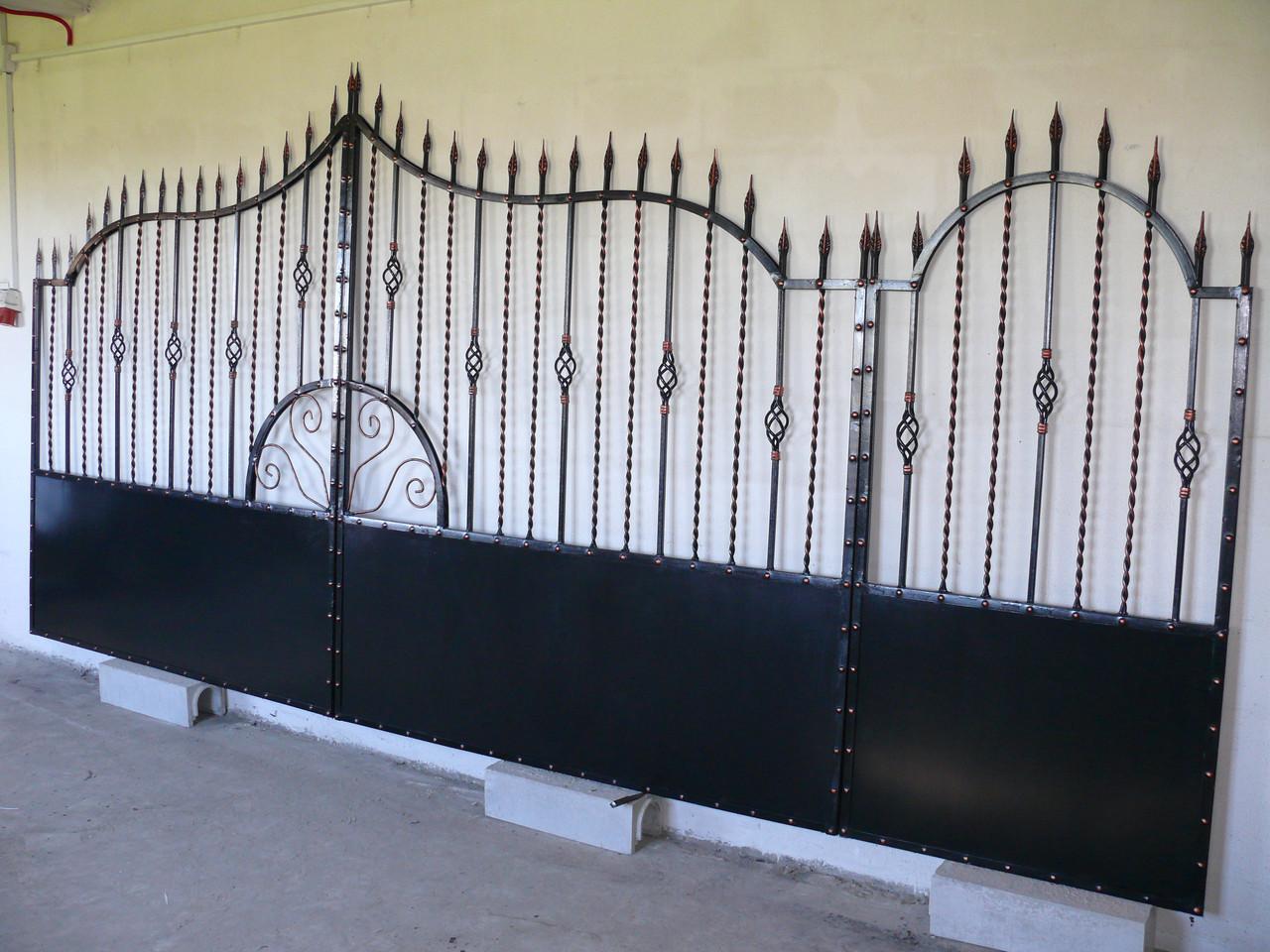 Ворота кованые Олд, Олд плюс